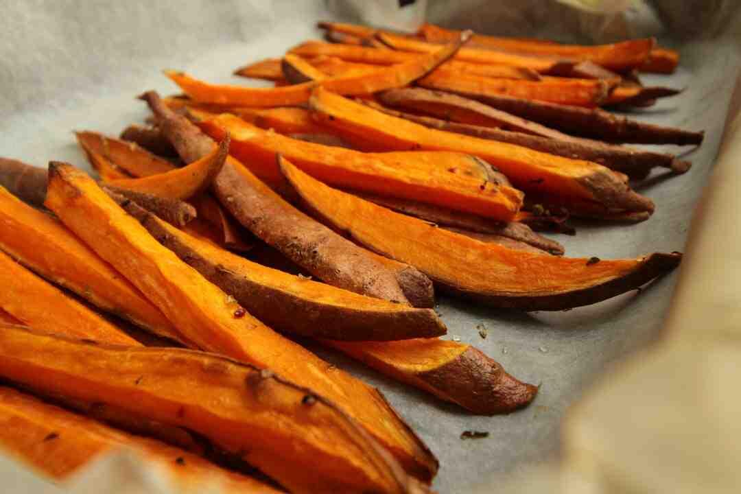 Comment conserver des patates douces coupées