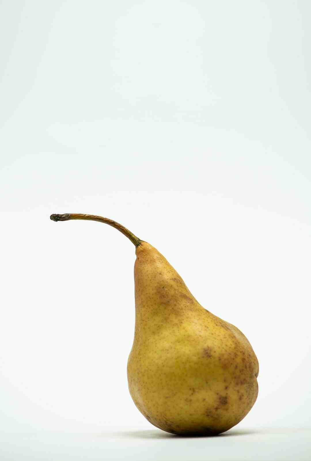 Comment couper une poire
