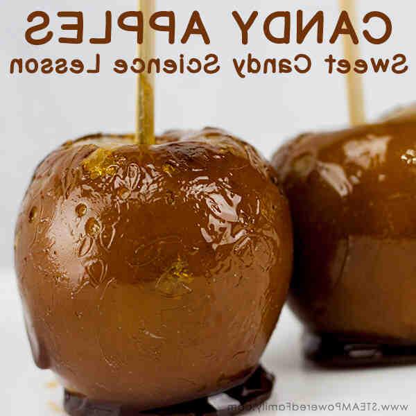Comment confectionner des pommes d'amour au toffee