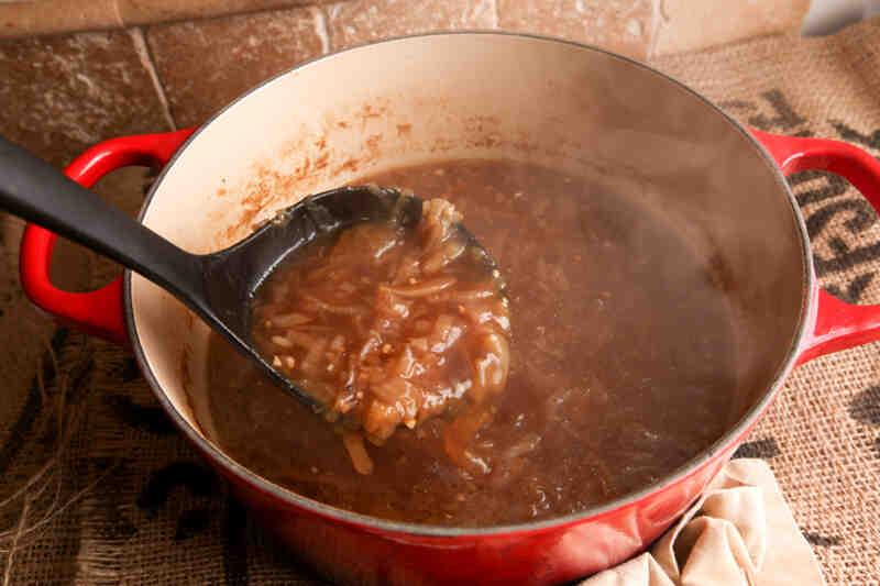 Comment faire de la soupe à l'oignon