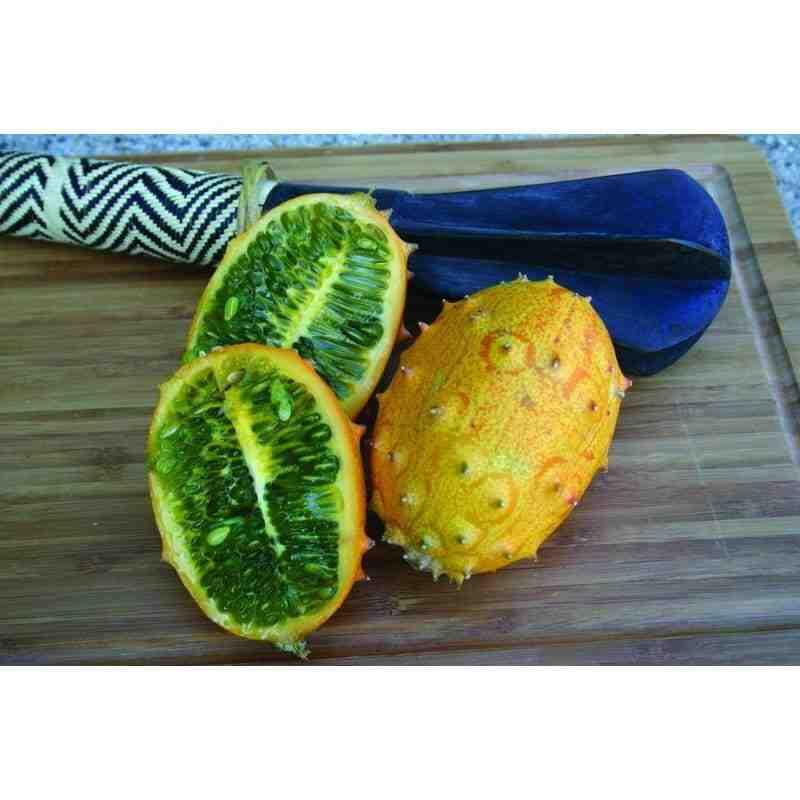 Comment manger le kiwano (melon à corne)